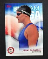 2016 Topps U.S. Olympic Team #63 Jenny Thompson - NM-MT