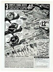 FISHING RODS & LURES ~ 1960 & 1970 Advertisements