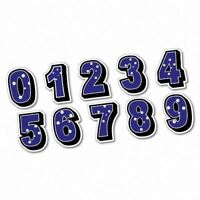 Southern Cross Numbers Sticker Aussie Car Flag 4x4 Funny Ute