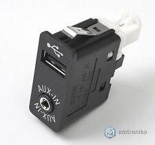 ORIGINALE BMW USB/AUSILIARIA INPUT PRESA 84109237653 CIC NBT COMPATIBILI