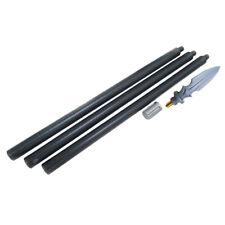 In polipropilene WUSHU 3pc lunga lancia la formazione del personale coltello in plastica da viaggio bastone di aiuto