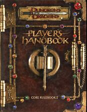 D&D PLAYERS HANDBOOK CORE RULEBOOK 1 EXC! TSR Dungeons & Dragons AD&D