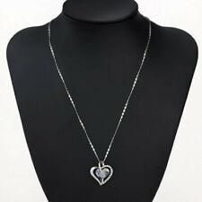 Neoglory 20 inch Swarovski Crystal Heart Pendant Necklace