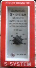 Electromatic S-system SB125 712 INTERVAL TIMER 0,8-18 sec 24VDC (600038)