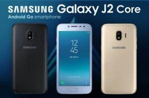 BRAND NEW BOXED SEALED SAMSUNG GALAXY J2 CORE 8GB DUAL SIM UNLOCKED SMARTPHONE