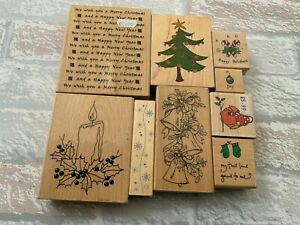 Wooden Christmas Stamps Bundles