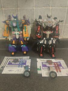 Transformers Cybertron Megatron & Galvatron Leader Class Loose/Complete