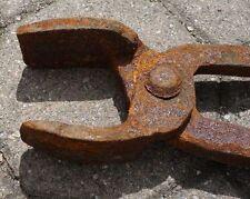 alte Schmiedezange Zange Schmied Nr. 2297/03 ca. 64 cm