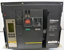Square D Masterpact 3000 Amp Circuit Breaker w 3000A Trip 600V NW30H LSIG S164A