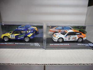 SEAT CORDOBA WRC EVO3 RALLY CATALUÑA/OURENSE 2001-05 CAÑELLAS/CRIVILLE 1:43