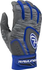 New Rawlings 5150 Baseball Batting Gloves Adult Small Royal Gray softball mens