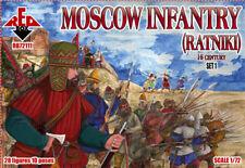 RED BOX 1/72 Moscú Infantería (ratniki) 16 Century Juego 1 #72111