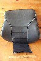 "Permobil Corpus Backrest Cushion 1826169, 18.5"" Wide X 20"" Black Leatherette"