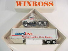 Winross ServiStar Ford Lumber Home Centers Rig Tractor Trailer NEW in Box