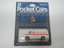 Tomy Tomica Pocket Cars Chevy Ambulance Van No. 143-F22
