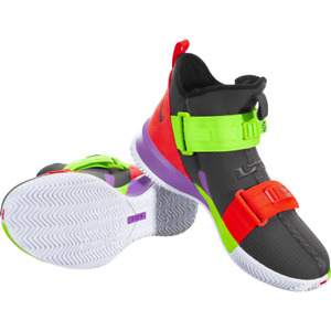 Nike LeBron Soldier 13 Basketball Shoes AR4225-002 Men's Size 11 Multicolor