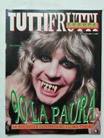 RARE TUTTIFRUTTI N. 90 MARZO-APRILE 1990 LE ROCK STAR CONFESSANO I LORO TIMORI
