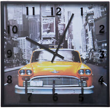 Wanduhr Cities New York Taxi (Kare Design)