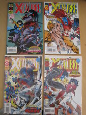 X-CALIBRE : COMPLETE 4 ISSUE AGE OF APOCALYPSE SERIES. X-MEN. MARVEL.1995
