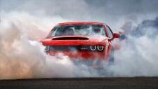 """New 2018 Dodge Challenger SRT Demon Burn Auto Car Art Silk Wall Poster 24x36"""""""