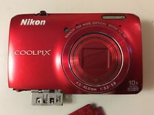 Nikon COOLPIX  S6300 16.0 MP 10x Compact Digital Camera - AS IS, Parts or Repair