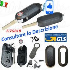 Chiave Telecomando Guscio per FIAT 500L PUNTO EVO PANDA LANCIA MUSA YPSILN+logo.