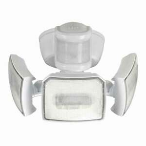 Home Zone Motion Activated LED Security Light 3000 Lumens 3 Lamp Heads 4000K