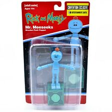 Rick and Morty Mr. Meeseeks SDCC Convention Exclusive Wooden Push Puppet