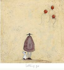 'Letting Go' Limited Edition Print by Sam Toft No. 105 of 395 Brand New