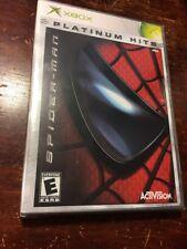 Spider-Man Platinum Hits Microsoft Xbox 2003 NEW Sealed Video Game Marvel