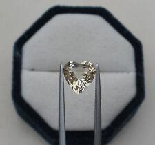 Citrine Heart Natural Loose Gem 9mm