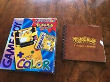 Game Boy Color Pokemon Yellow Pikachu Special Edition GBC New Factory Sealed