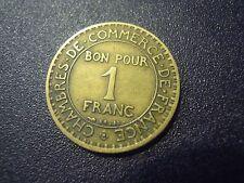 1924 France Chambre de Commerce BON POUR 1 FRANC (M/4-7)