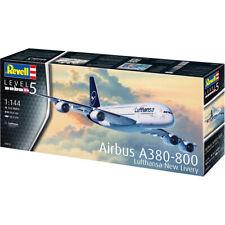 Revell Airbus A380-800 Lufthansa Passenger Plane Model Kit - Scale 1:144 - 03872