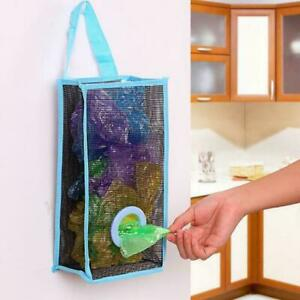 Durable Mesh Hollow Hanging Garbage Bags Storage Bag Extraction Pouch HS0P E 01