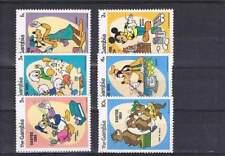 Serie Disney postfris MNH The Gambia: Mickey Donald Goofy (dis033)