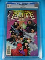 CGC Comic graded 9.8 DC Justice league elite #1 Key film