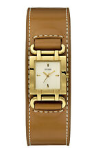 Guess w0153l2 Smoothy Women's Watch Leather Strap Brown