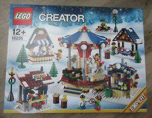 Lego Créateur Expert - 10235 Hivernal Marché Hiver Village Market Neuf & Ovp