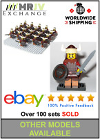 21 Minifigures Hun Warrior Army Military - LE GO Compatible