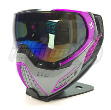 HK Army KLR Paintball Mask - Slate Black / Purple FREE SHIPPING Thermal Goggles