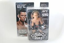 ROUND 5 MMA UFC NATE DIAZ ACTION FIGURE ULTIMATE COLLECTOR BJJ REPRESENT 209