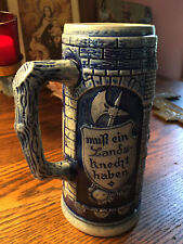 Gerz German Beer Stein Without Lid New Lower Price!