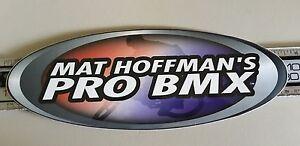 """Mat Hoffman's Pro BMX Sticker 10.5"""""""