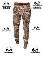 "Thermal Bottoms Men's Fleece Heavyweight Camo Realtree ""EDGE"" Various Size New"