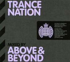 TRANCE NATION - Mixed By Above & Beyond - Ministry of Sound 2CD Set
