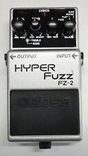 BOSS FZ-2 HYPER Fuzz Guitar Effects Pedal 1993 #100 DHL Express or EMS