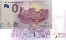 Heidelberger Schloss 2018-1 Null Euro Souvenirschein| € 0 Euro Schein