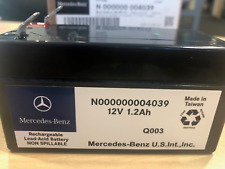 Genuine Mercedes 12v Back Up Battery N000000004039 Various Applications  BNIB