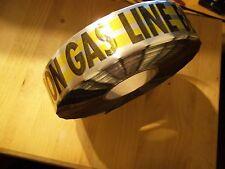 Magnatec Direct Bury Yellow Gas Detector Alarm Tape x 200 Ft